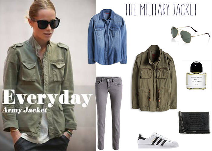 How to Wear The Military Jacket – Initials