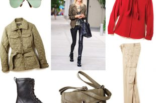 How to wear the modern military trend - Chatelai