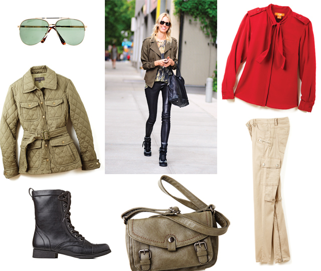 How to Wear Military Trend