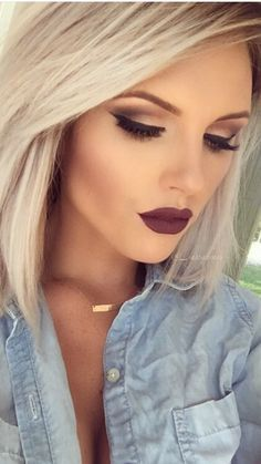 dark wedding makeup best photos | Wedding hair and makeup, Hair .