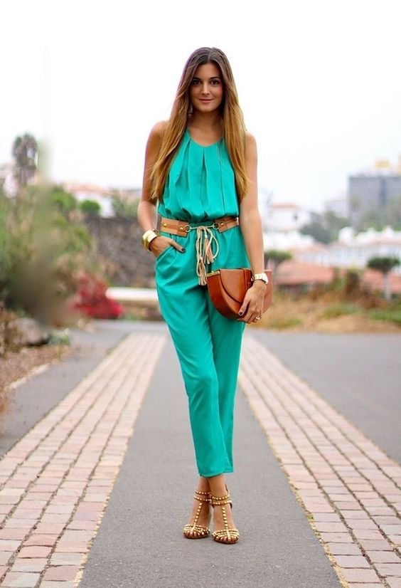 15 Ideas of Glam Jumpsuits - Pretty Desig