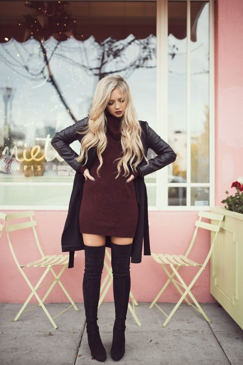 17 ideas to add burgundy to your outfits | Fashion, Cute fall .