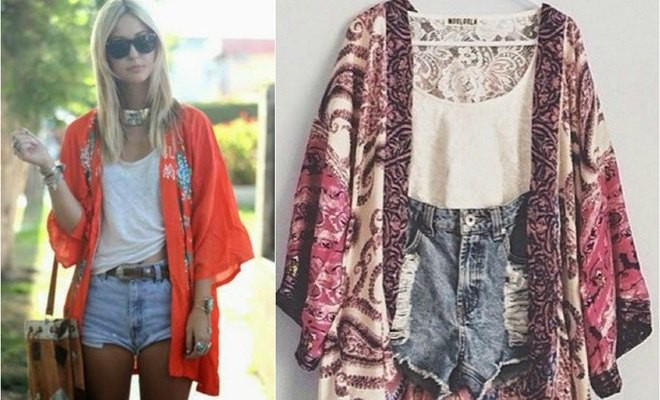 DIY summer clothes ideas: How to make a kimono jack