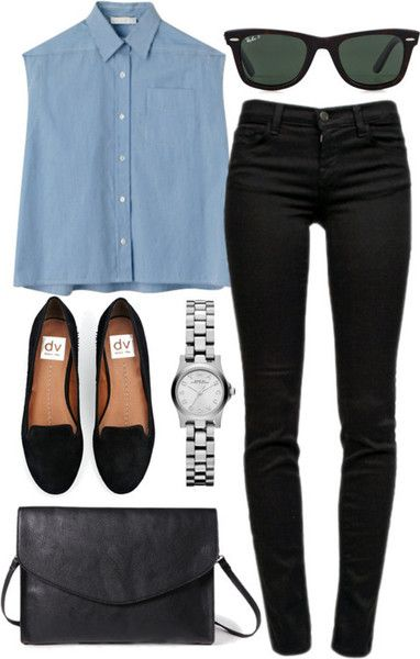 17 Ideas to Pair Your Outfits with Black Fla