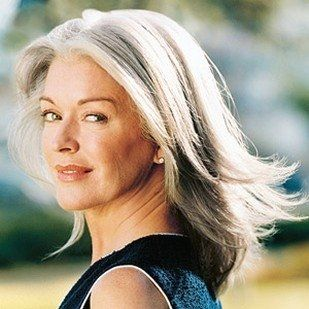 Gray Hair Women | at the age of 50 to go grey or not to go grey .