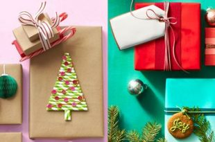 40+ Unique Christmas Gift Wrapping Ideas - DIY Holiday Gift Wr