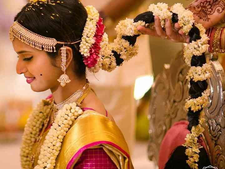8 South Indian Wedding Hairstyles For Long Hair Which Highlight .
