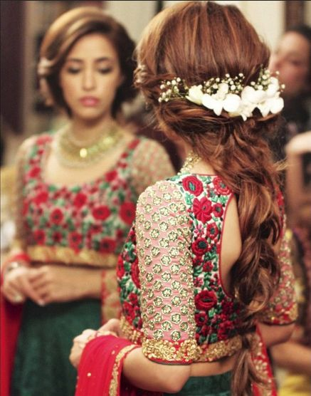 Latest Indian Bridal Wedding Hairstyles Trends 2019-2020 .