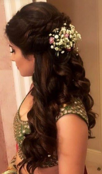 30+ Latest Indian Bridal Wedding Hairstyles Images 2019-2020 .