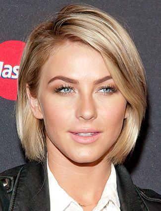15 Gorgeous Straight Hairstyles | Julianne hough short hair, Sleek .