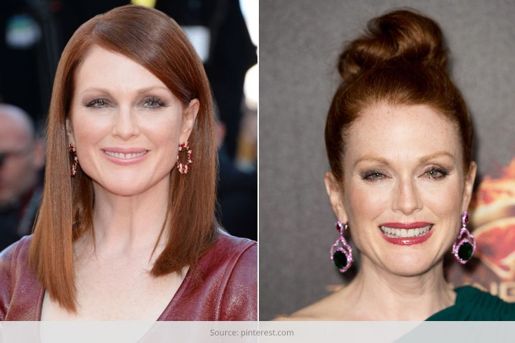 Get Inspired By Julianne Moore Hairstyles | Indian Fashion Blog .
