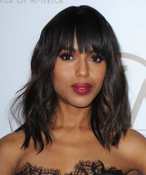 Kerry Washington Hairstyles, Hair Cuts and Colo