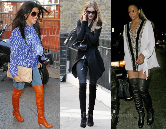 Celebrities Love...Thigh-High Boots - Red Carpet Fashion Awar