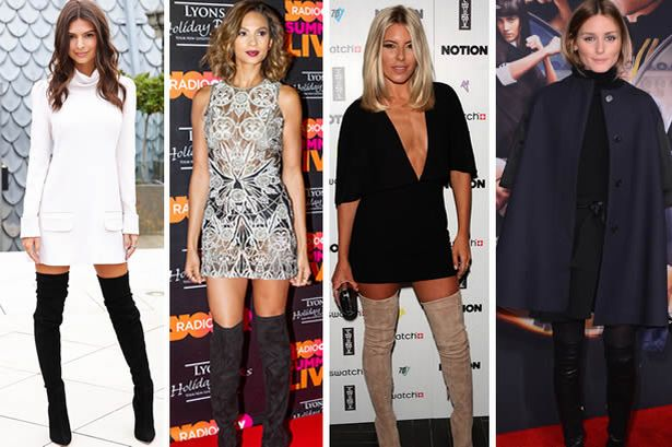 Thigh high boots: Celebrities show us how to style the tricky .