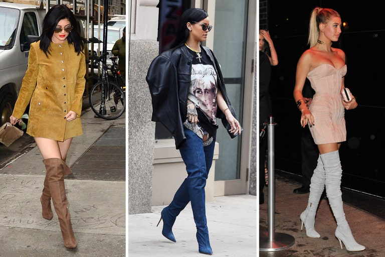 Celebrities Wearing Thigh-High Boots | Teen Vog