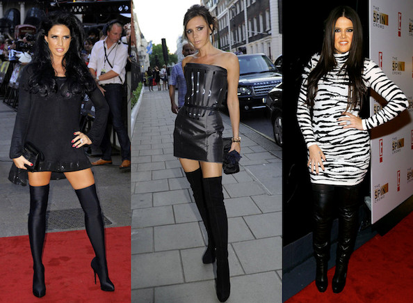 Celebrities Love Over-the-Knee Boots - StyleBist