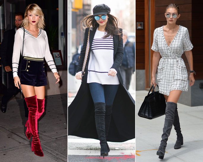 Where to Buy the Over-the-Knee Boots That Celebrities Love .