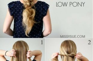Knotted Ponytail in 2020 | Knot ponytail, Hair styles, Stylish ha