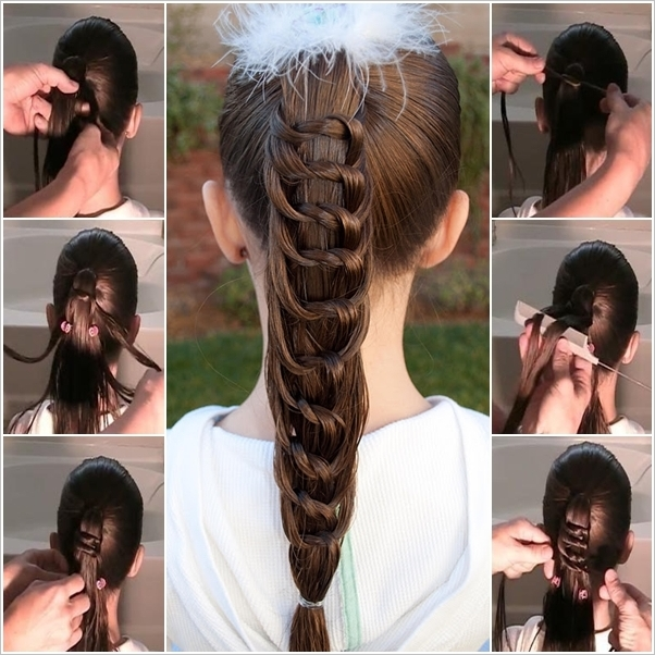 DIY Amazing Knotted Ponytail Hairsty