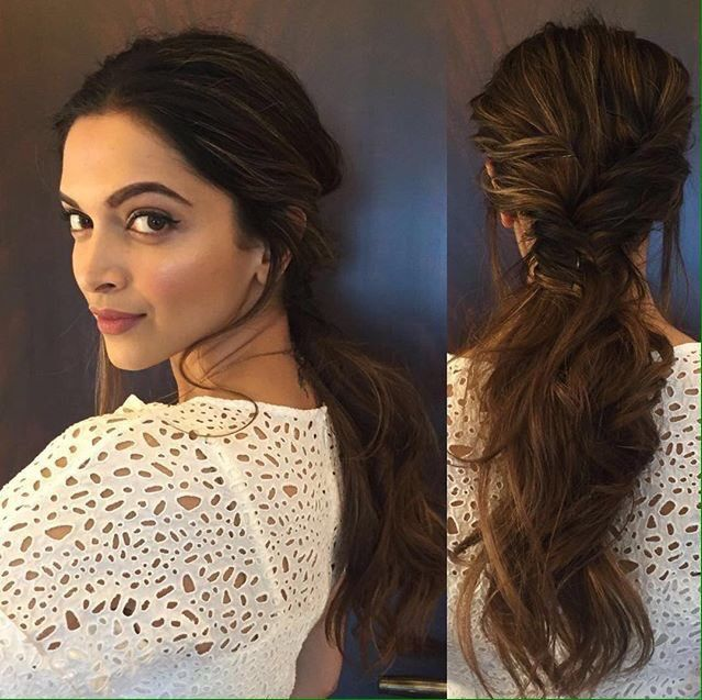Pin by fauxpuppet on Hair Inspo | Deepika hairstyles, Deepika .