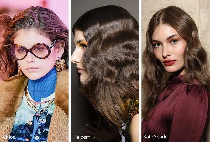 Fall/ Winter 2019-2020 Hairstyle Trends | Winter hair color trends .