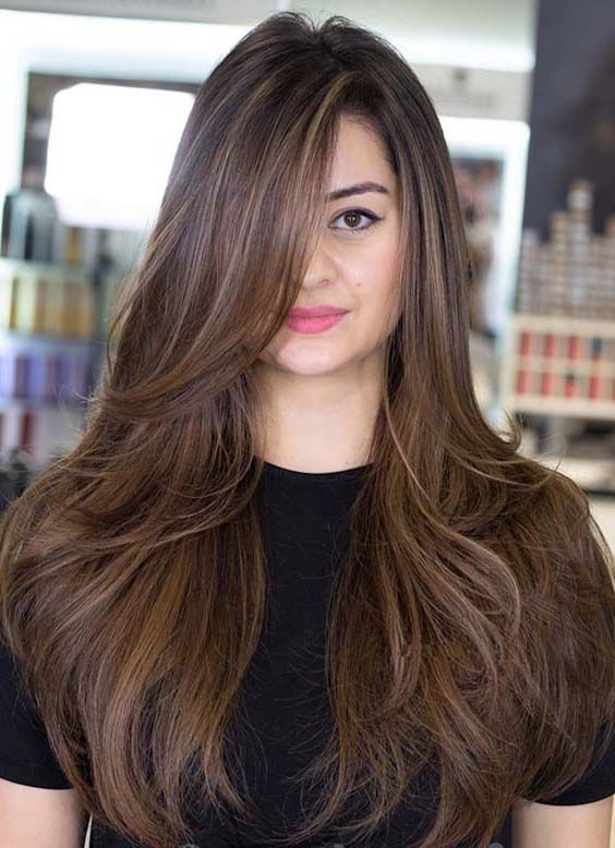 Latest Long Layered Straight Hairstyles Trends in 2018 | Long .
