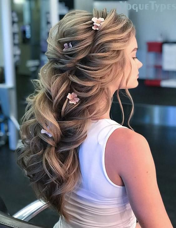 Charming Wedding Hairstyle Trends for Long Hair In 2019 | Hair .