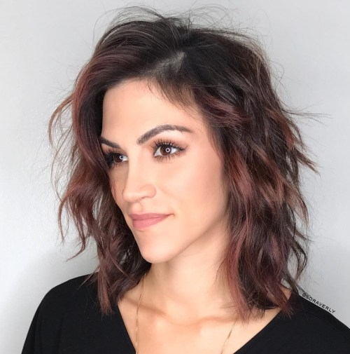 60 Super Chic Hairstyles for Long Faces to Break Up the Leng