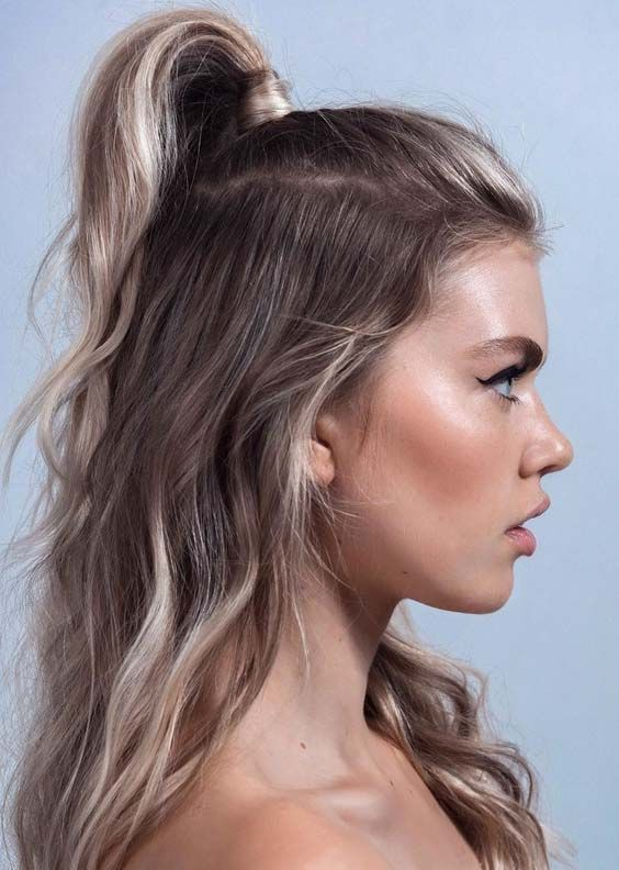 Latest Half Up Half Down Hairstyle Trends
