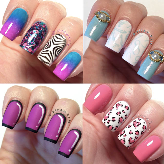 Recent Nail Art Designs: 21 Ideas In Pictures - Nails P