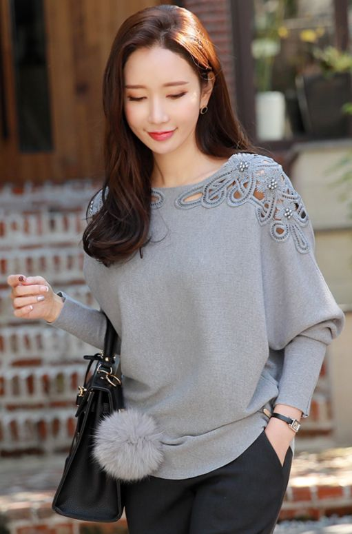 Latest Stylish Knit Tops for a Casual   Daily Look