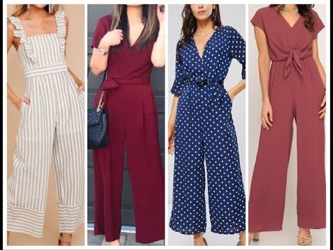 Latest casual Jumpsuit Outfits || Trendy & Stylish Jumpsuits - YouTu