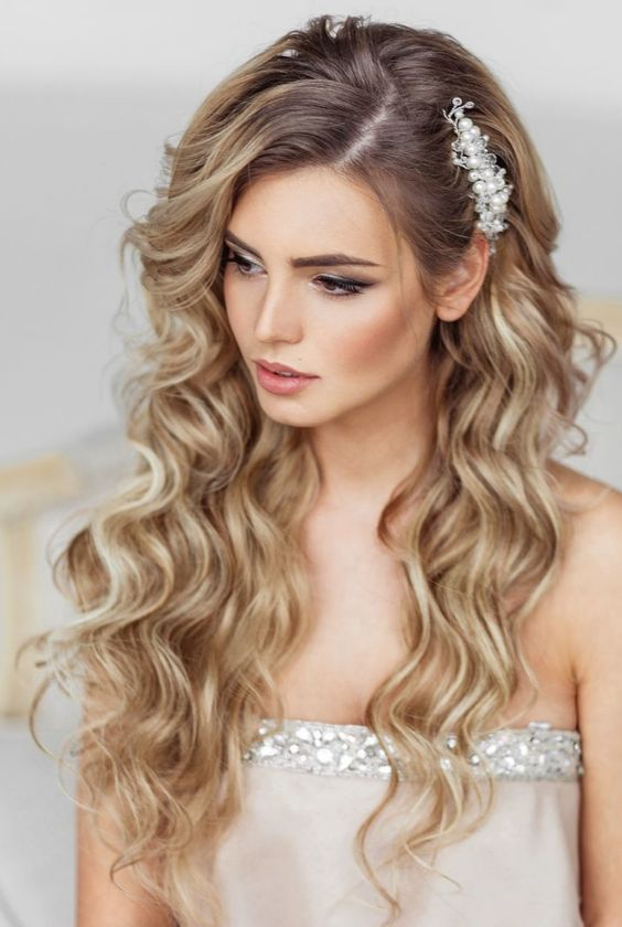100 Best Hairstyles for 2017 | Wedding hair inspiration, Wedding .