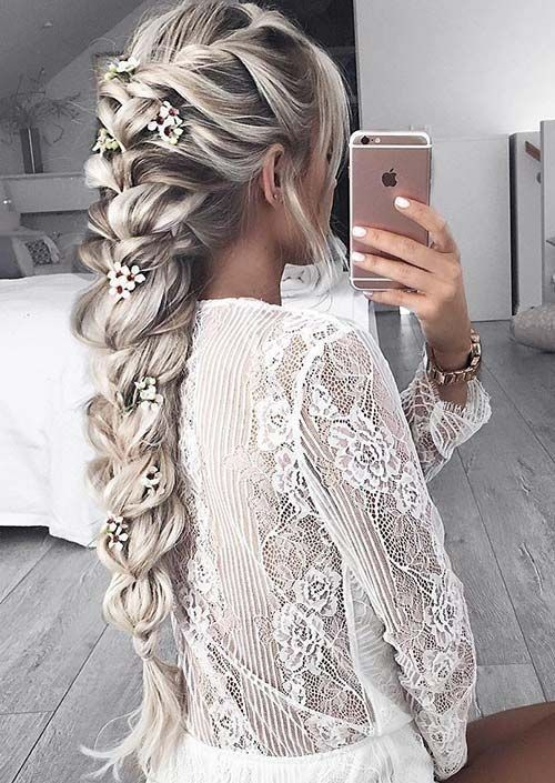 10 Gorgeous Long Hairstyle Designs 2020 | Frisuren, Frisuren la