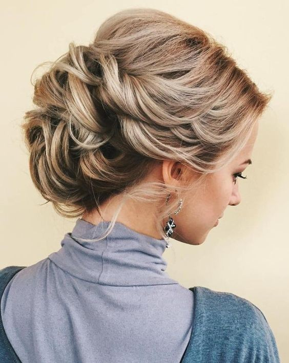10 Stunning Up Do Hairstyles 2020 - Bun Updo Hairstyle Designs for .