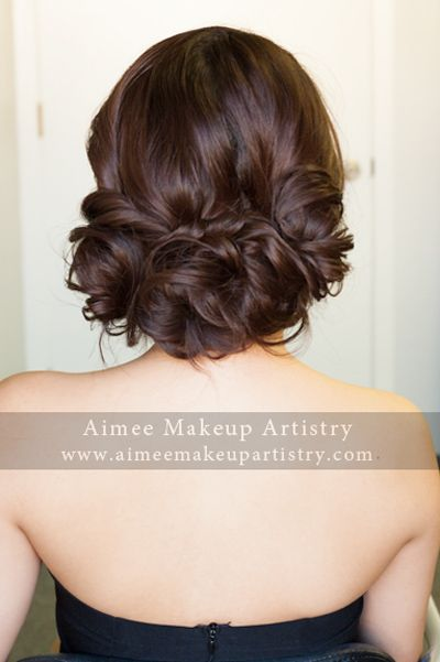pretty asian woven/loose low bun | Asian wedding hair, Wedding .