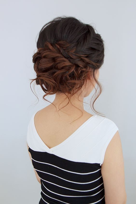 10 Stunning Up Do Hairstyles – Bun Updo Hair Style Designs for .