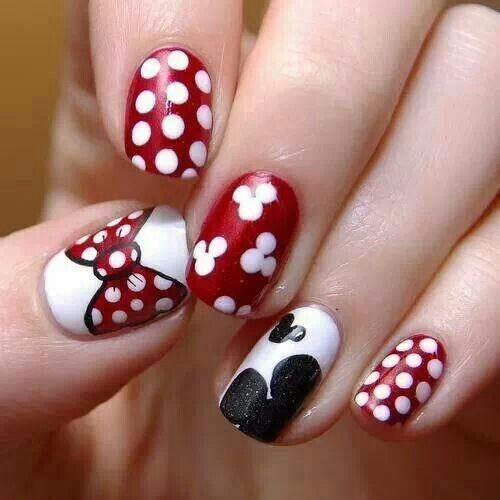 Cartoon #cute #nails #spring Manicure #Themed #week Lovely Cartoon .