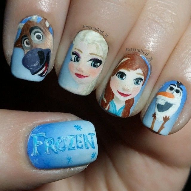 Lovely Cartoon Themed Nails for the Week in 2020 | Halloween .