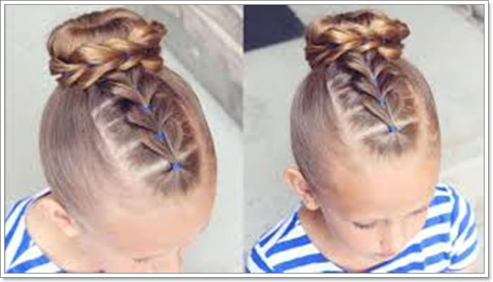 136 Adorable Little Girl Hairstyles to t