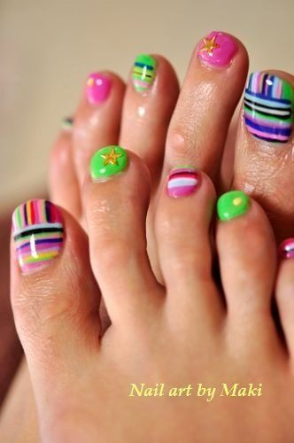 12 Lovely Ideas for Your Toenail Designs You Can Try | Zomerse .