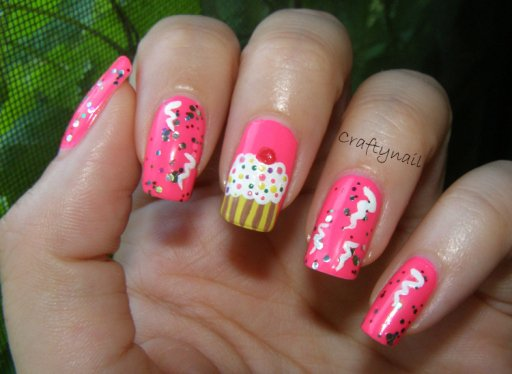 14 Lovely Nail Designs for Your Kids' Birthday Party - Pretty Desig