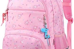 Amazon.com | Vbiger Girls School Backpack Cute School Bag Bookbag .