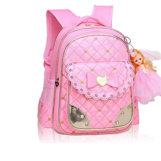 fashion girl schoolbag cute school backpack orthopedic school bags .