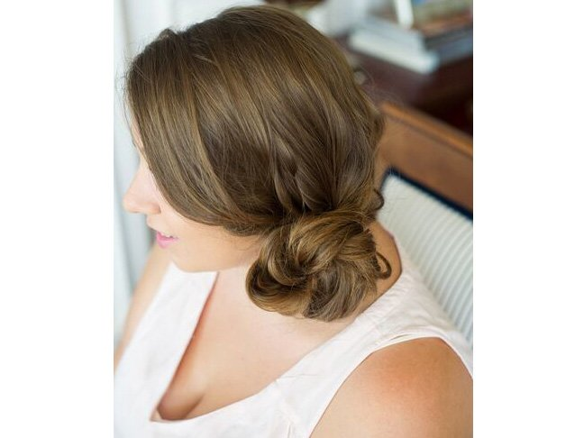 Try This Two-Minute Messy Side Bun Tutorial To Look Polished Fa