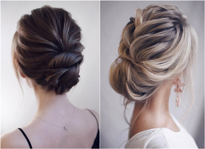 20 Low Bun Wedding Updo Hairstyles We Love | Oh The Wedding Day Is .