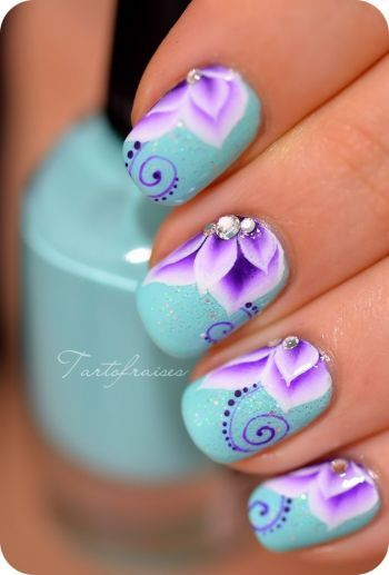 Nail Designs to Try – Stunning Nail Arts for the Week | Flower .