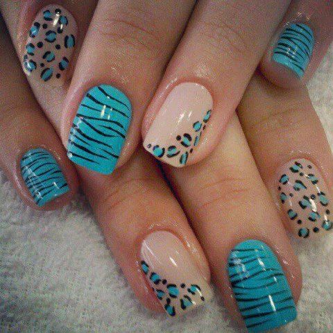 15 Magnificent Nail Arts for the Week | Unhas desenhadas, Unh