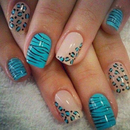 15 Magnificent Nail Arts for the Week | Animal print nails, Nail .