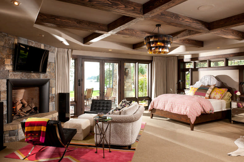 Suite Dreams: Timber Home Master Bedroom Desi
